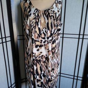 AGB Dress- Animal Print Dress